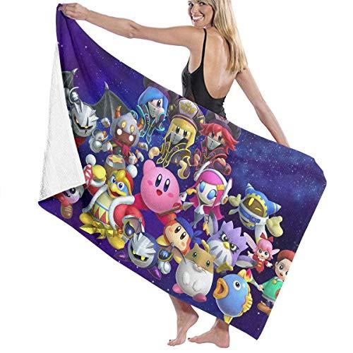 Toalla de baño Kirby de FERNMXZ, toalla de baño súper...