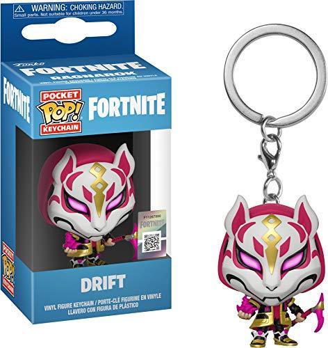 Funko- Keychain Pocket Pop Fortnite Drift Figura...