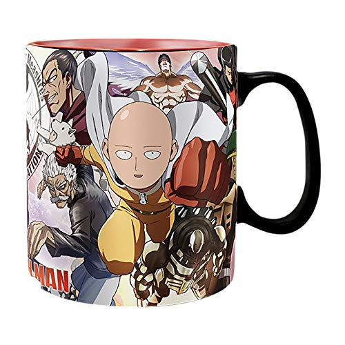 ABYstyle - ONE PUNCH MAN - Taza cambia color con calor - 460...