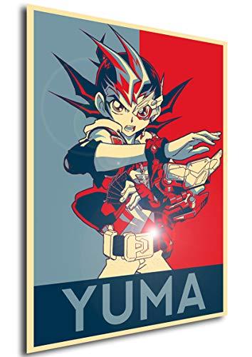 Instabuy Poster - Propaganda - Yu-Gi-Oh! - Yuma Tsukumo A4...
