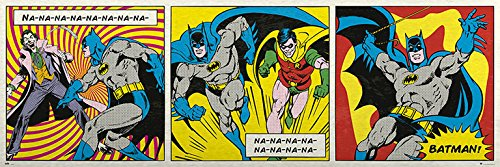 Grupo Erik Editores Puerta - Poster con diseño DC Comics...