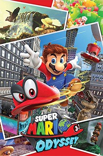Pyramid PP34229 - Poster con diseño Super Mario Odyssey...