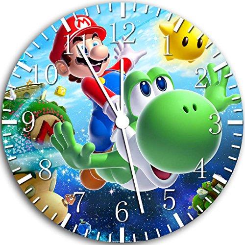 Ikea W69 - Reloj de pared, diseño de Yoshi y Super Mario,...