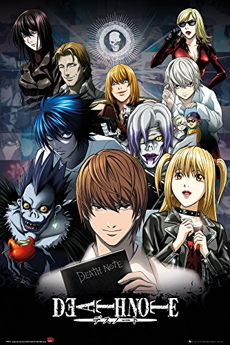GB Eye Limited Death Note Collage Poster, Madera,...