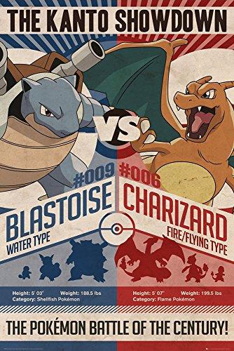 GB Eye LTD, Pokemon, Rojo v Azul, Maxi Poster, 61,5 x 91,5...