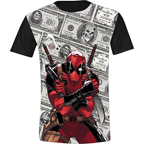 Deadpool Dollars Camiseta multicolor XL