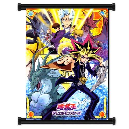 Yu-Gi-Oh! Póster de personajes de manga japonés Tela de...