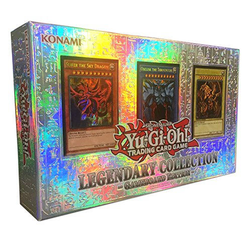 YuGiOh LEGENDARY COLLECTION Gameboard Edition Gods Cards...