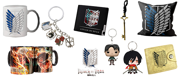 Merchandising Attack on Titan