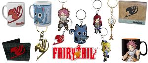 Merchandising Fairy Tail
