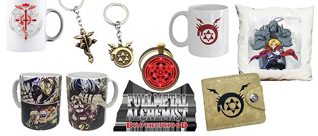 Merchandising Fullmetal Alchemist