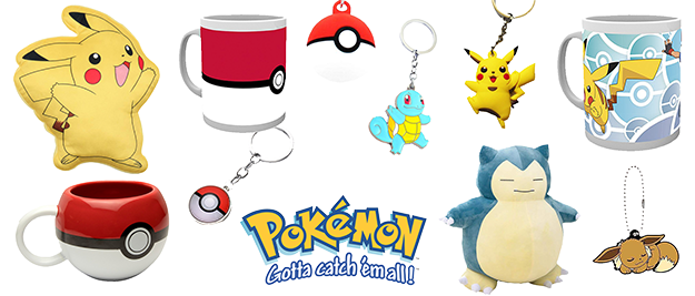 Merchandising Pokemon