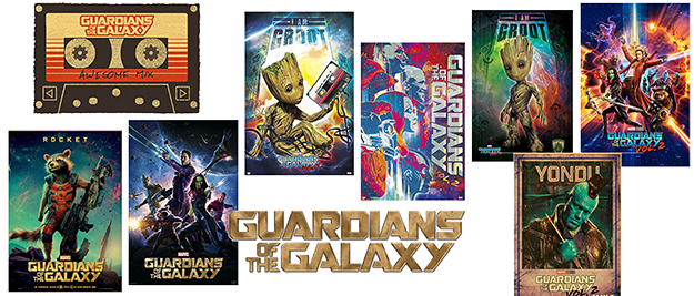 Posters Guardians of the Galaxy