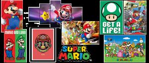 Posters Mario Bros