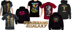 Camiseta Guardianes de la Galaxia