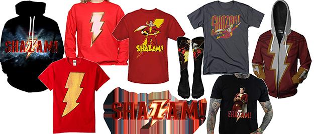 Camiseta Shazam
