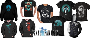 Camiseta Final Fantasy
