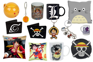 Merchandising Anime y Manga