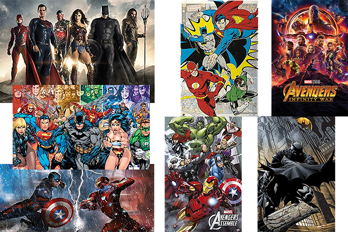 Posters y Wallpapers Comics