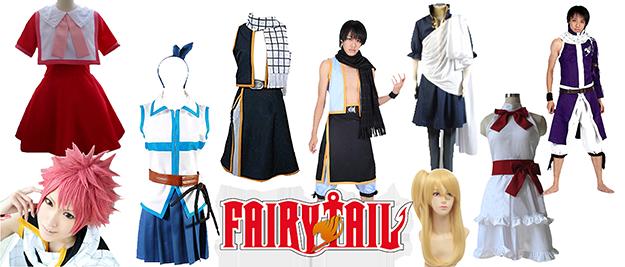 Disfraces Fairy Tail