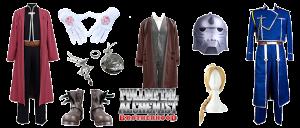 Disfraces Fullmetal Alchemist