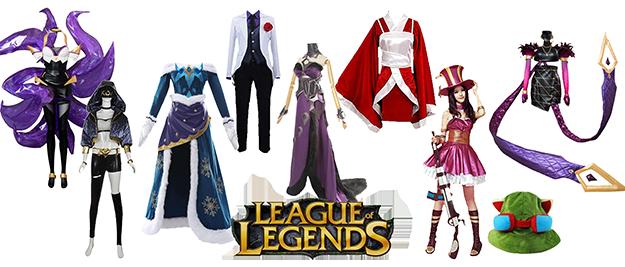 Disfraces League of Legends