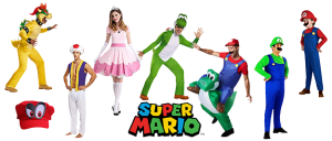 Disfraces Super Mario