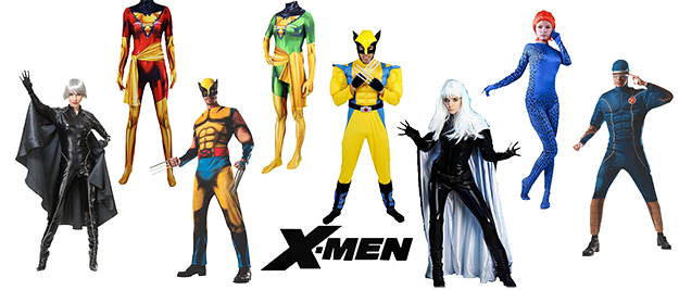Disfraces X-Men