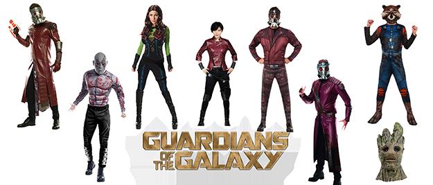 Disfraz Guardianes de la Galaxia