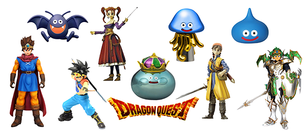 Figuras Dragon Quest