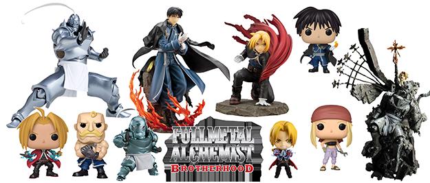 Figuras Fullmetal Alchemist