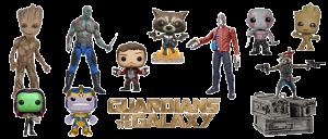 Figuras Guardianes de la Galaxia