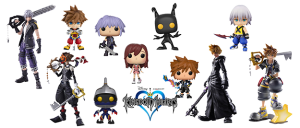 Figuras Kingdom Hearts