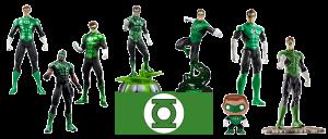 Figuras Linterna Verde