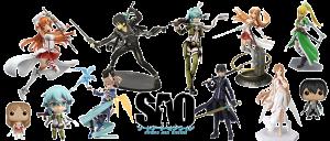 Figuras Sword Art Online