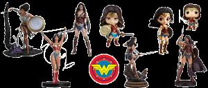 Figuras Wonder Woman