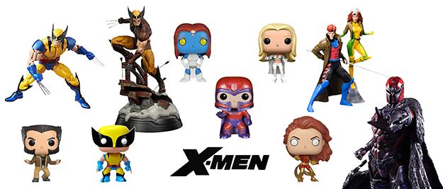 Figuras X-Men