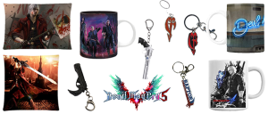 Merchandising Devil May Cry