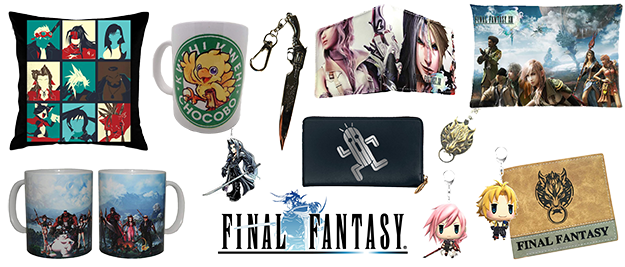 Merchandising Final Fantasy