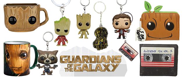 Merchandising Guardianes de la Galaxia