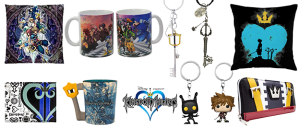 Merchandising Kingdom Hearts