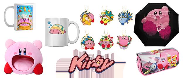 Merchandising Kirby