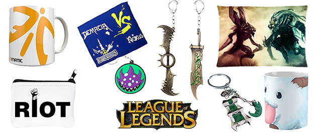 Merchandising League of Legends