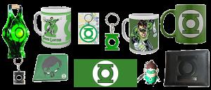 Merchandising Linterna Verde