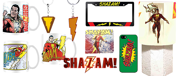 Merchandising Shazam