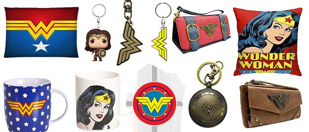 Merchandising Wonder Woman