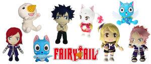 Peluches Fairy Tail