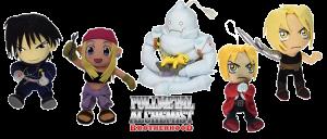 Peluches Fullmetal Alchemist
