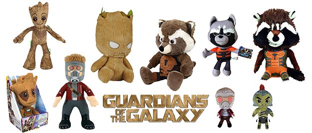 Peluches Guardianes de la Galaxia