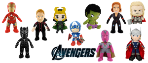 Peluches Marvel